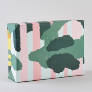 Pink Forest柄包装紙/ラッピングペーパー