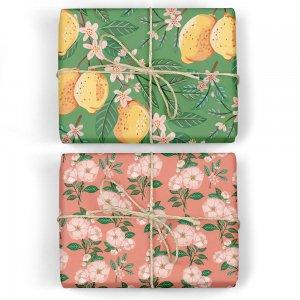 レモンの木/カメリアの花ダブルサイドペーパー