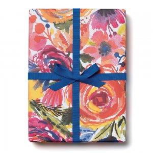 ロマンティックローズ柄包装紙/ラッピングペーパー