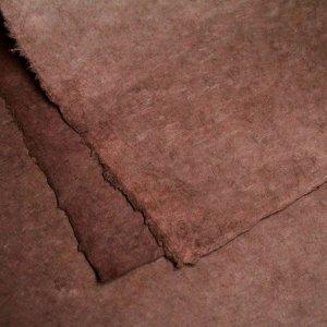 ネパール手漉き紙 無地(プレーン)ペーパー ブラウン/包装紙/ラッピングペーパー