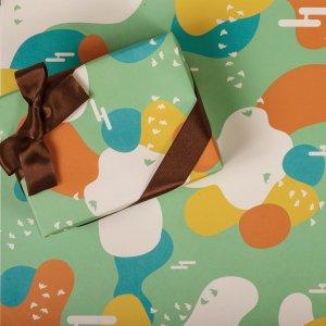 MANYOラッピングペーパー/包装紙 5枚【学生コラボ日本のおみやげ包装紙】