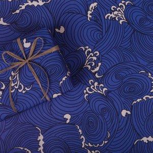 波柄ペーパー 5枚セット【学生コラボ日本のおみやげ包装紙】