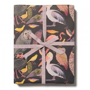 BIRDS WORLD柄包装紙/ラッピングペーパー