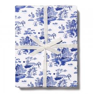 シノワズリ柄包装紙/ラッピングペーパー