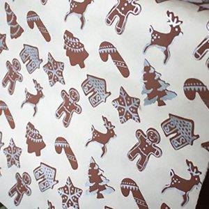 【11月初旬入荷発送予約】ネパール手漉き紙 ジンジャーブレッドクッキー 包装紙