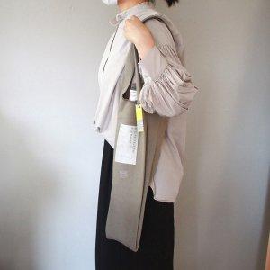 【送料込み】包装紙専用キャンバスエコバッグ/チャコール