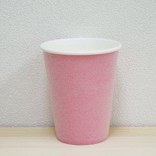 耐熱紙コップ【8オンス】100個 ピンク