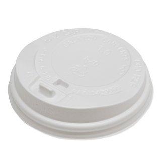 リッド(ふた)ホワイト【二重断熱紙コップ 8オンス用】100個