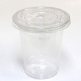 プラカップ【8オンス】ふた付/1000組 VG-92-08