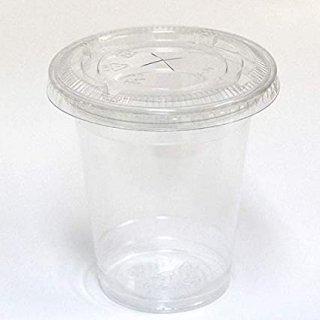 プラカップ【10オンス】ふた付/100組 VG-92-10