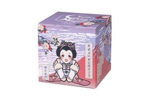 足リラシート[桜の香り]藤色箱 30枚入