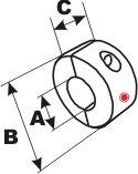 シャフトアノード 円柱型 ミリサイズ