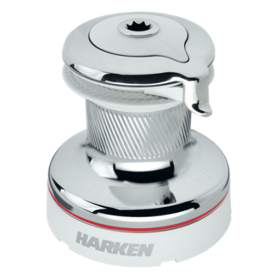 Harken Radial 2 Speed Chrome Self-Tailing Winch White 46.2STCW