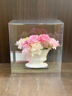 プリザーブドフラワー (ピンク系/5000円)
