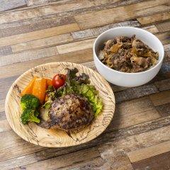 【北のハイグレード食品】認定    こぶ黒ハンバーグ和牛丼セット