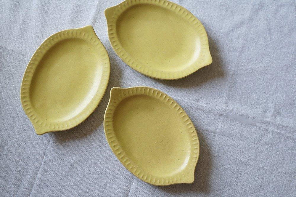 レモンのお皿 小 5客制限