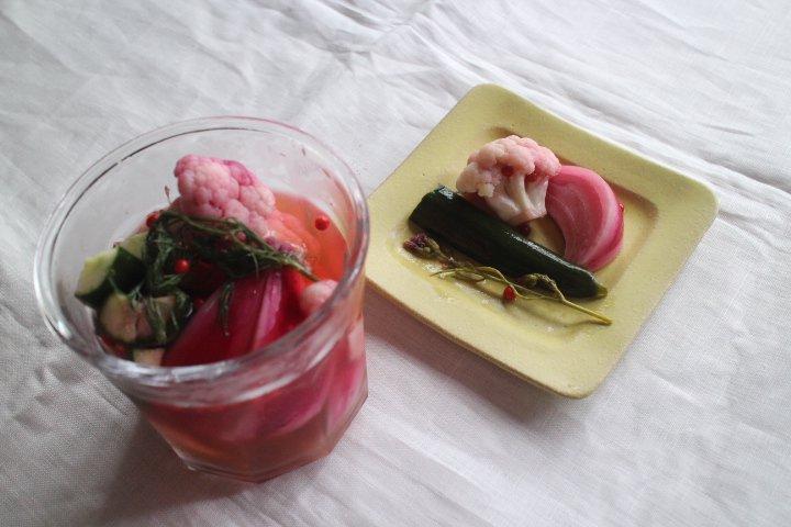 シトロン 正方リム小皿