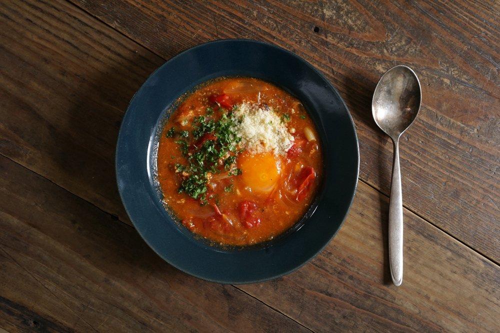 ヨルノアオ スープ皿