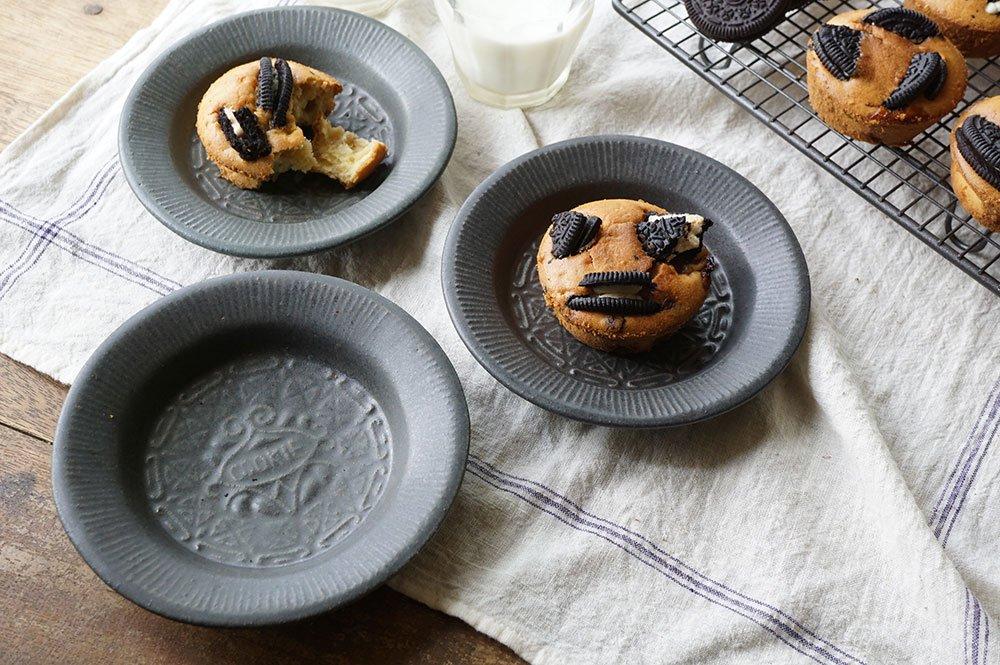 チャコール クッキー皿