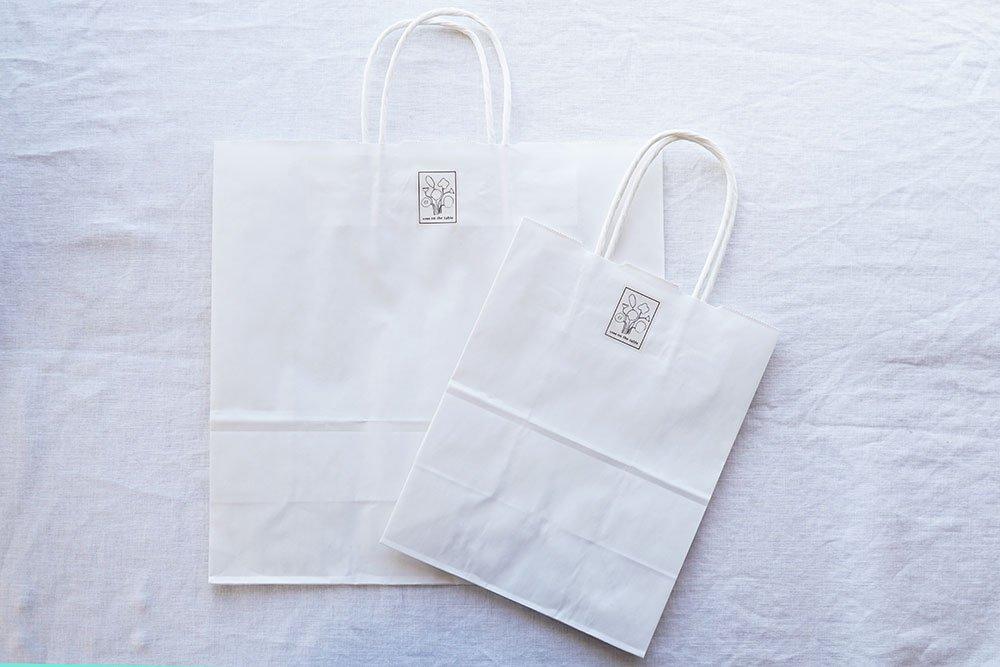 紙袋(オリジナルシール付き)
