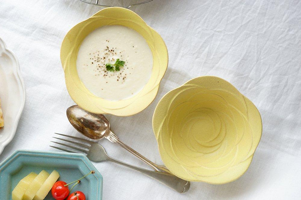 シトロンバラのお鉢