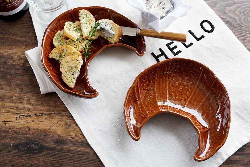 クロワッサン皿