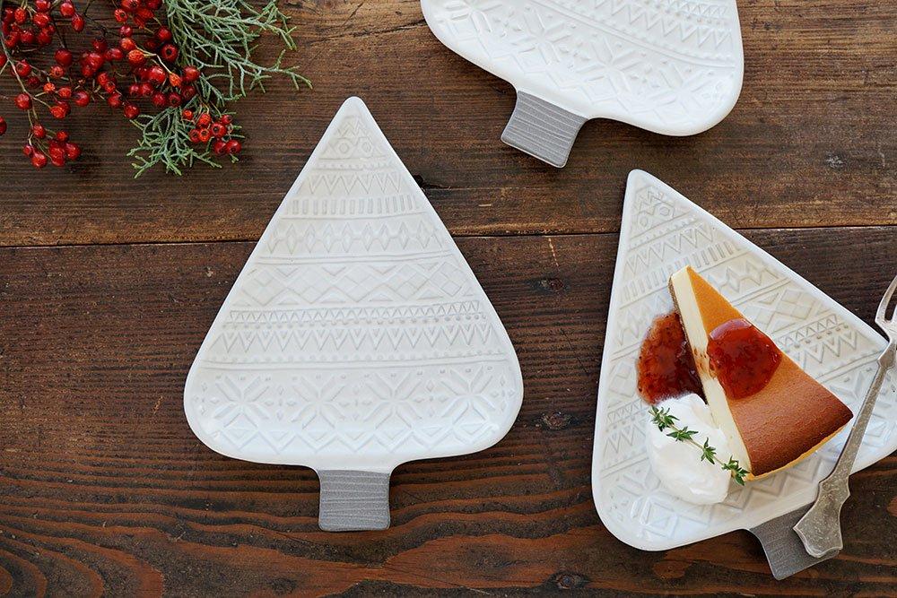 ホワイトグレー 木のお皿 5客制限