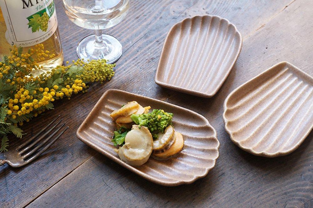ココア マドレーヌ皿