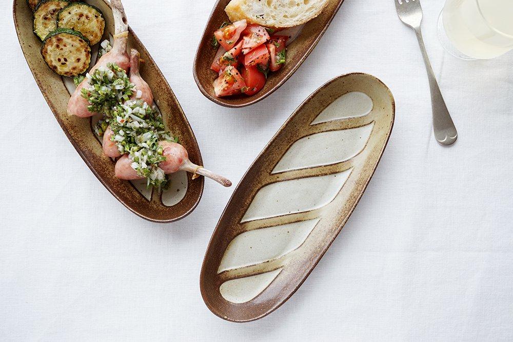 フランスパン皿 長