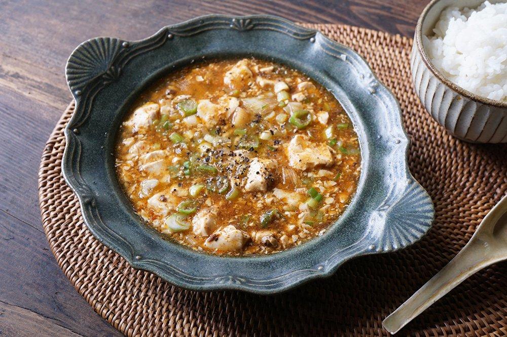 銅緑釉 持ち手のある西洋スープ皿