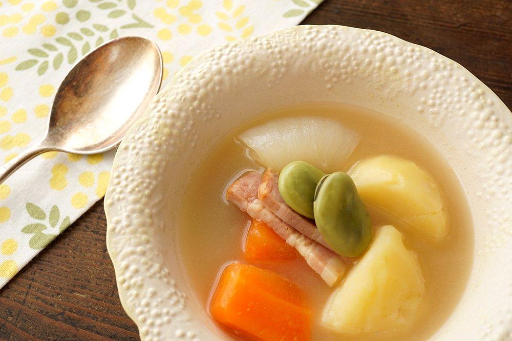ミモザのスープボウル