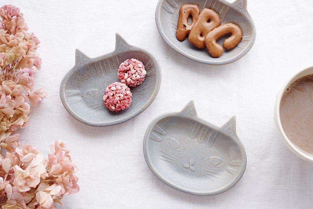 猫豆皿 キジトラ