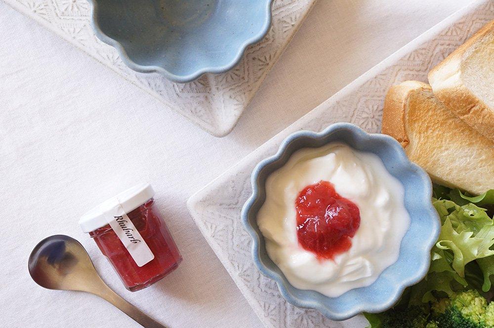 ブルーグレー お花小鉢