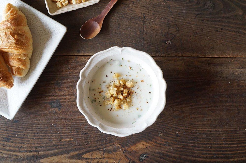ホワイト 西洋スープ鉢
