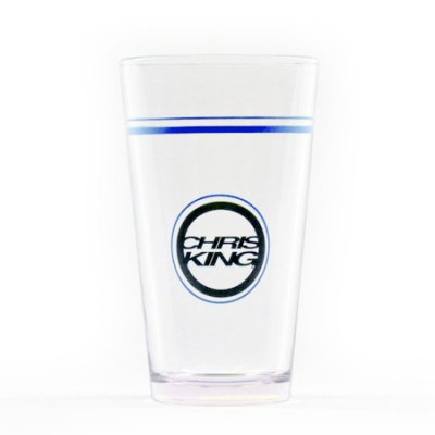 *CHRIS KING* Pint Glass (Navy)