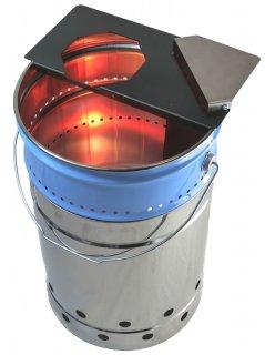 ウッドガス焚火缶