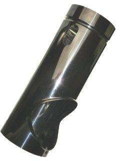 貫通ロケット煙突(左穴)