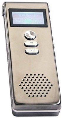 キヨラカ 小型ICレコーダー 長録くん ブラウングレー WK-I01
