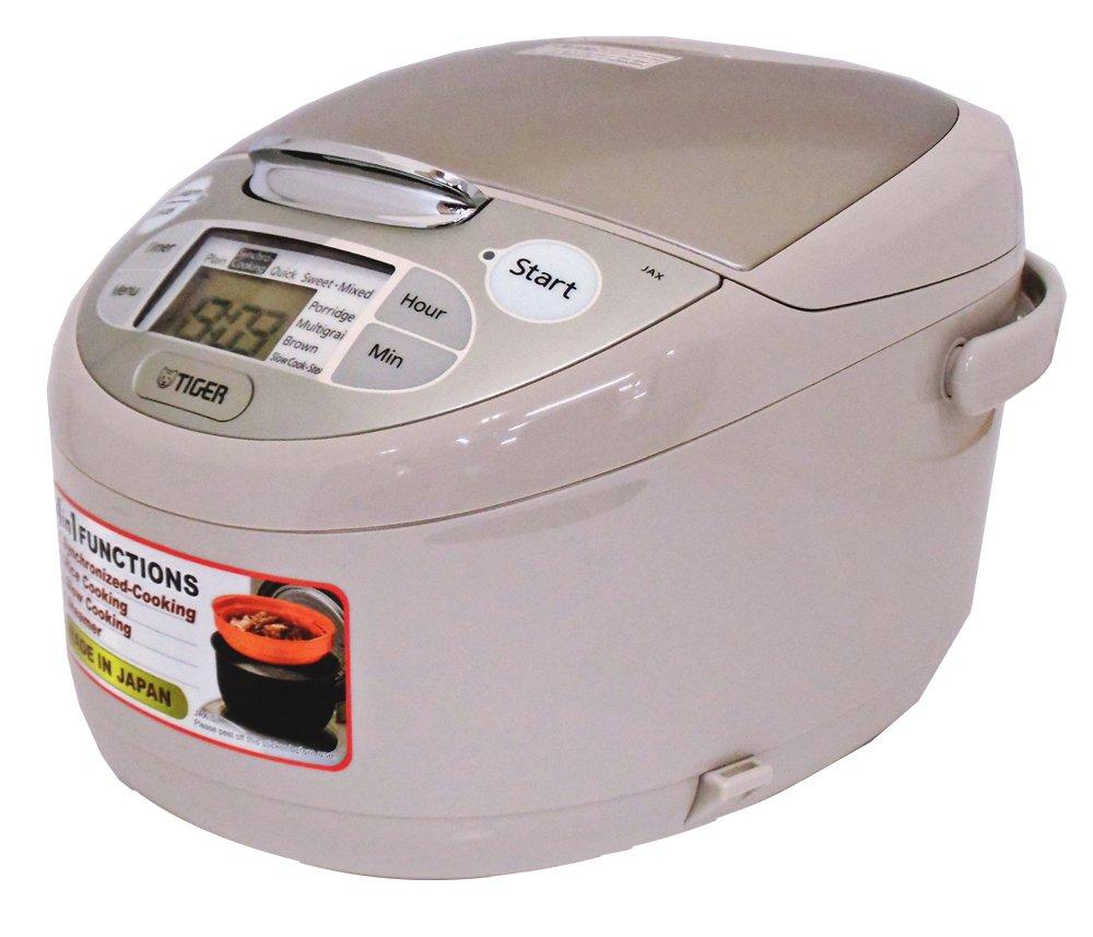 【海外向け炊飯器】【220V仕様】 タイガー魔法瓶 マイコン炊飯ジャー 1升炊き ベージュ JAX-S18W CZ