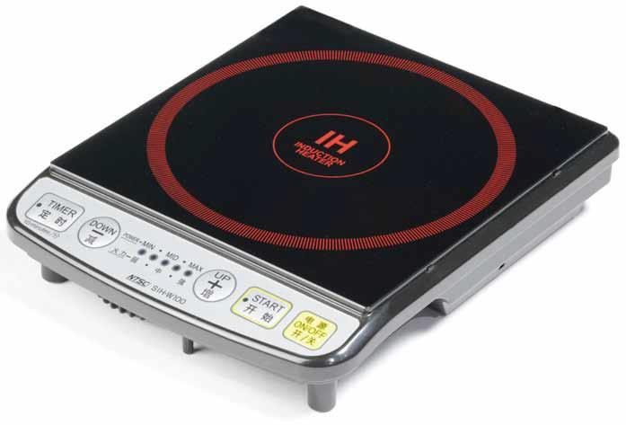 【海外向け家電】【220V仕様】 NTS IH調理器(IHクッキングヒーター) SIH-W100