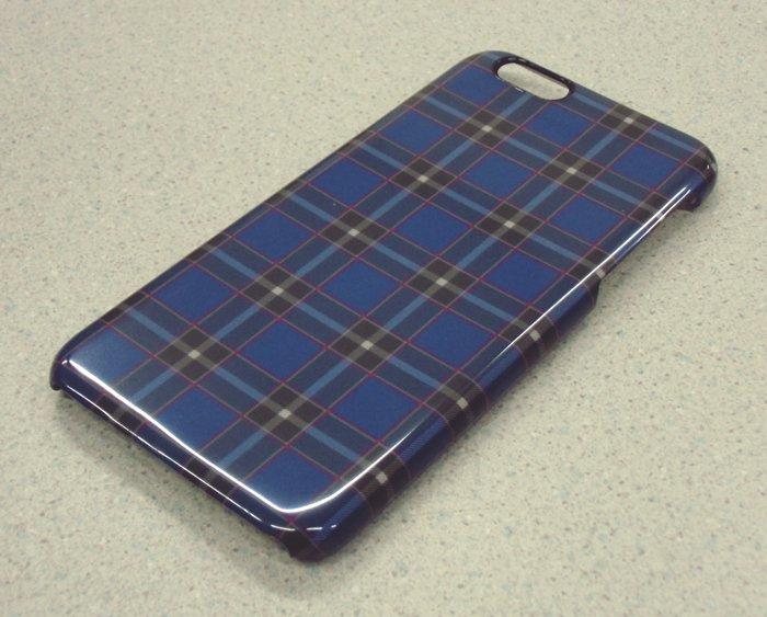 神戸タータンデザイン iPhone7/iPhone8ケース(「KOBE TARTAN」ロゴなしver)