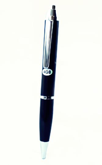 キヨラカ ペン型ICレコーダー ペンボイスPC ブラック IC-P04BK
