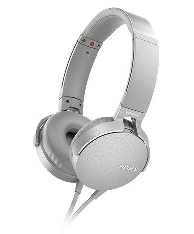 SONY ワイヤレスステレオヘッドセット MDR-XB550AP WCE(ツーリストモデル)