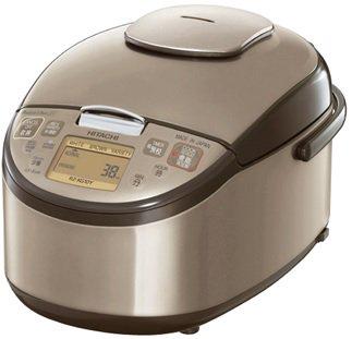【海外向け炊飯器】【220〜230V仕様】 HITACHI 《極上炊き》 圧力&スチームIH炊飯ジャー 1升炊き ブロンズゴールド RZ-KG18Y N