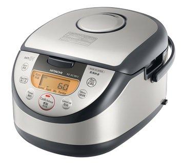 【海外向け炊飯器】【220〜230V仕様】 HITACHI 《極上炊き》 IH炊飯ジャー 1升炊き シルバー RZ-XC18YJS