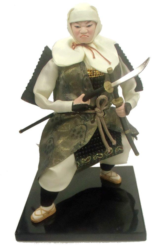 【民芸品】【日本人形】 彩稚の宴シリーズ 武蔵坊弁慶