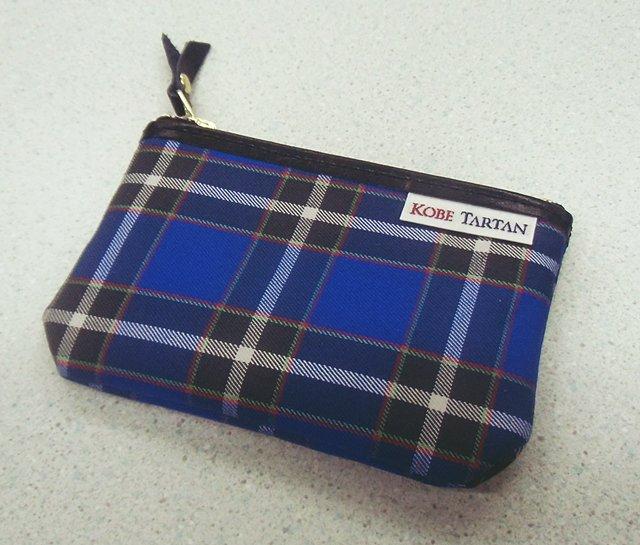 【メール便対象商品】 神戸タータン ポーチ Sサイズ