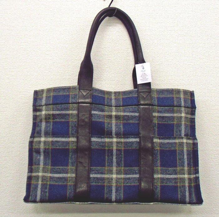 神戸タータンデザイン トートバッグ