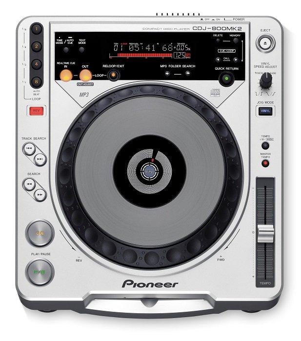 【新品】【在庫処分セール】【海外仕様】 パイオニア プロフェッショナルCDプレーヤー CDJ-800MK2
