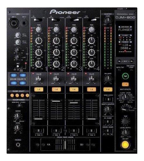 【新品】【在庫処分セール】【海外仕様】 パイオニア プロフェッショナルDJミキサー DJM-800 TLXJ